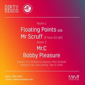 DD x S120 - Floating Points, Mr.Scruff, Mr.C