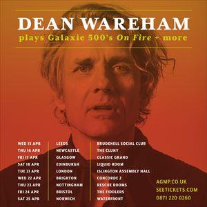 Dean Wareham plays Galaxie 500