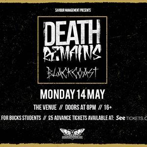 Death Remains & Black Coast
