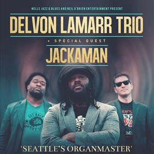Delvon Lamarr Trio + Special Guest: Jackaman