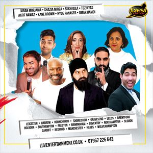Desi Central Comedy Tour