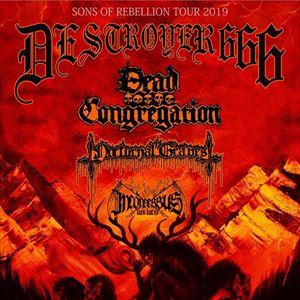 DESTROYER 666 at The Underworld, London