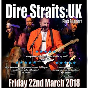 Dire Straits UK Live @ Sandwell College Theatre
