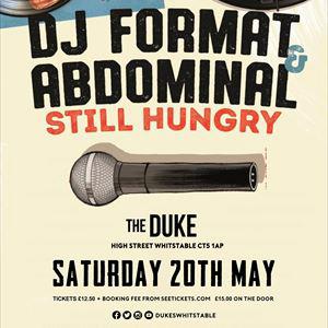 Dj Format Abdominal Still Hungry Tour May