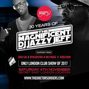 DJ JAZZY JEFF - Only 2017 London Club Set