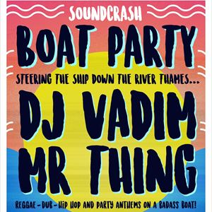 DJ Vadim Boat Party