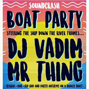 DJ Vadim Boat Party
