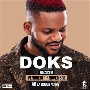 DOKS - CONCERT à LA BOULE NOIRE