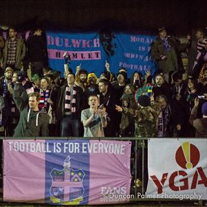 Dulwich Hamlet vs Tonbridge Angels