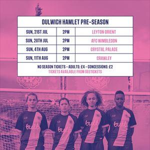Dulwich Hamlet WFC vs Crystal Palace