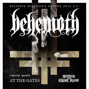 Ecclesia Diabolica Evropa 2019 TOUR feat. BEHEMOTH