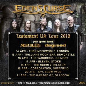 EDENS CURSE / MOB RULES/ DEGREED