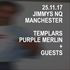 EDGES PRESENTS - TEMPLARS, PURPLE MERLIN + GUESTS