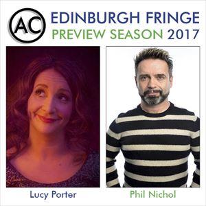 Edinburgh Previews: Phil Nichol & Lucy Porter