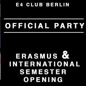 Erasmus & International Official Party