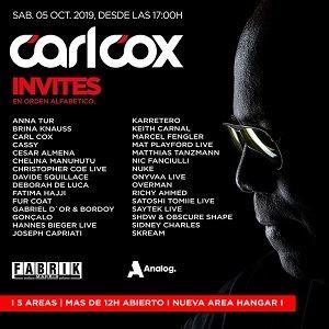 Fabrik - Carl Cox