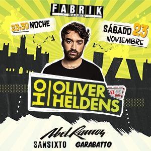 Fabrik - Oliver Heldens