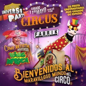 Fabrik - Universiparty Circus