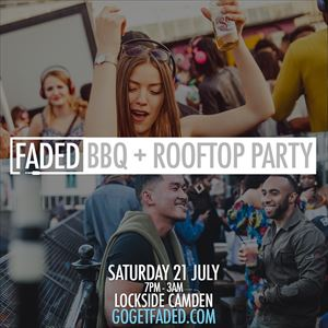 Faded BBQ + Rooftop Party - Sat 21 July