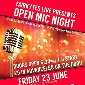 Fairkytes Live: Open Mic