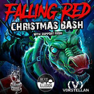 Falling Red Christmas Bash