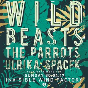 FestEvol WILD BEASTS, THE PARROTS, ULRIKA SPACEK