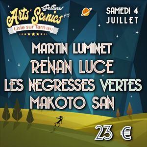FESTIVAL ARTS'SCENICS Samedi 4 Juillet