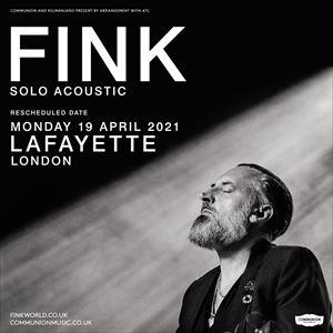 Fink (solo acoustic)