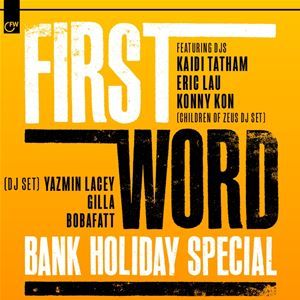 First Word Bank Holiday Special