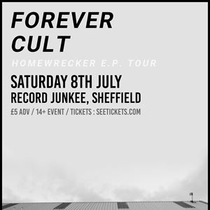 FOREVER CULT LIVE AT RECORD JUNKEE SHEFFIELD