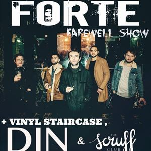 Forte, DIN, Vinyl Staircase, The Scruff Club