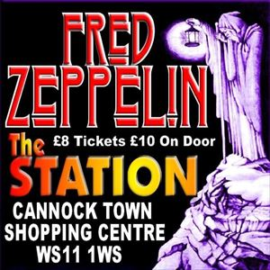 Fred Zeppelin at the Station