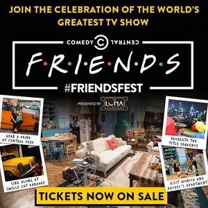 Friendsfest at Cardiff