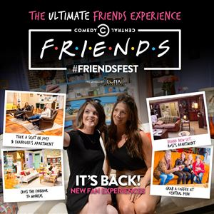 Friendsfest in Newcastle