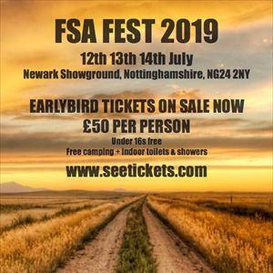 FSA FEST 2019 *EARLYBIRD*