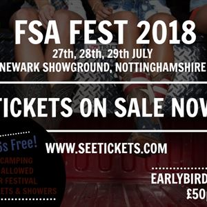 FSA Fest (Earlybird Ticket)