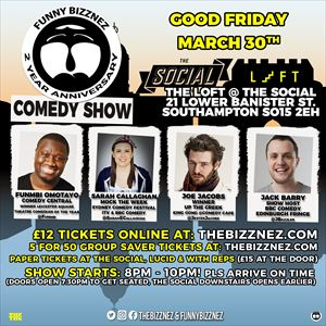 Funny Bizznez Comedy Show Southampton