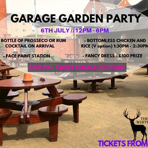 Garage Garden Party
