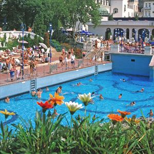 Gellért Spa Scenic Tour and Gellért Spa Enty