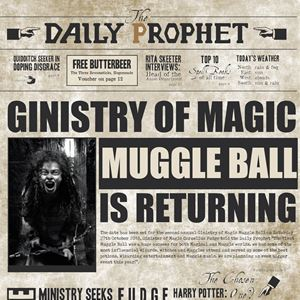 Ginistry of Magic Muggle Ball