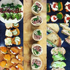 Golden Acre park catering packages