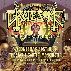 Gruesome - Manchester