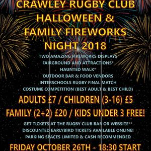 Halloween Family Fireworks Night