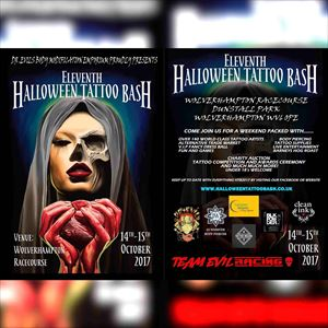 Halloween Tattoo Bash 2017