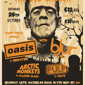 Halloween With Blur Pulp Oasis Arctic Monkeys