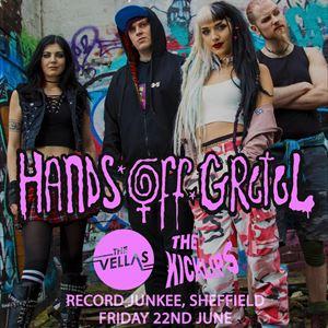 Hands Off Gretel / The Vellas / The Kicklips