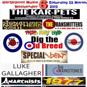 Hartlepool Music Weekender 2019