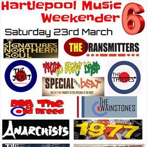 HARTLEPOOL MUSIC WEEKENDER Saturday event
