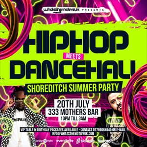 Hip-Hop Meets Dancehall Summer Party from See Tickets