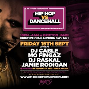 Hip-Hop vs Dancehall